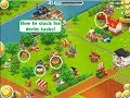 Hay Day..How to stack for derby tasks