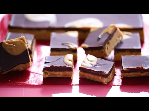 No-Bake Chocolate Peanut Butter Bars- Everyday Food With Sarah Carey