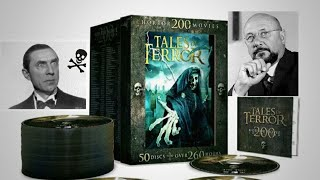 Tales of Terror unboxing. Massive horror collection!