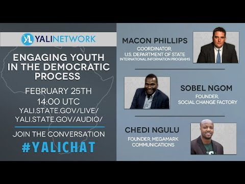 (AUDIO) Engaging Youth in the Democratic Process