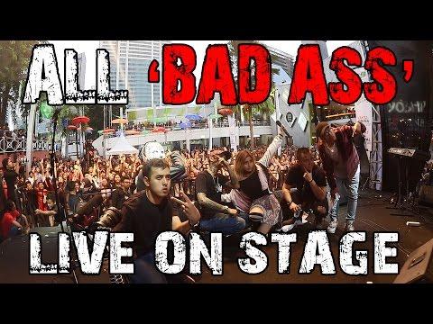 ALL 'BAD ASS' LIVE ! - AWKARIN, YOUNG LEX, ROBERT WYNAND, MACK'G, JOHN HAMMOND & KEMAL