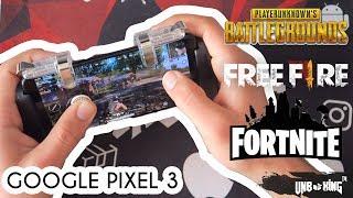 Unboxing Google Pixel 3 / gameplay : fortnite ; Pubg ; freefire