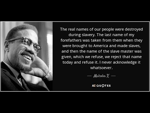 My Thoughts My Views Black People Have Slave Master Last Name How