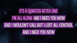 Need You Now (Karaoke) - Lady Antebellum