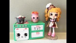 SUNDAY AFTERNOON CHAT #20/OPENING  SHOPKINS  HAPPY PLACES KITTY KITCHEN/TASTING BBQ PAYDAY