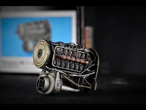 Tempest V Sabre Engine, Eduard Resin Kit 1/48 Scale, build video