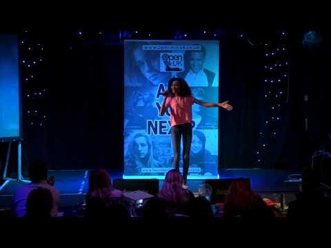 NEW YORK – ALICIA KEYS performed by JASMINE at TeenStar singing contest