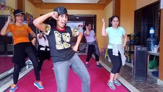 'GESER KIRI KANAN' By Nella Kharisma | Choreo By EVIN | Dangdutan Yuk...