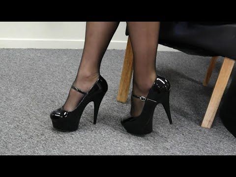 unboxing-try-out-pleaser-delight-687-black-6-inch-maryjane-high-heel-platform-shoes