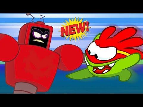 Om Nom Stories New Season | Super -Noms Vs Evil Robot | Hindi Cartoon