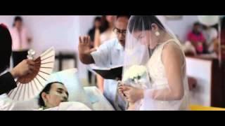 Noivo em estágio terminal morre 10 horas após casamento - seu último desejo thumbnail