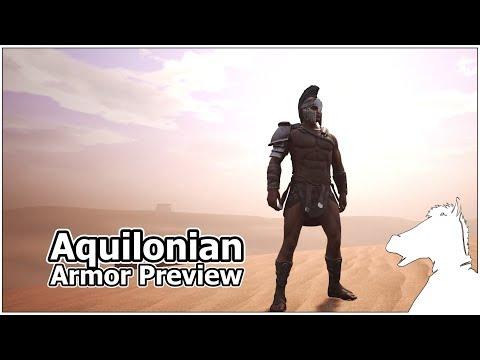 Aquilonian Armor Preview | CONAN EXILES