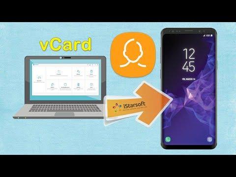 Samsung Kontakte Auf Sim Karte übertragen.Importieren Von Kontakten Zu Galaxy S9 Auf Einfache Weise