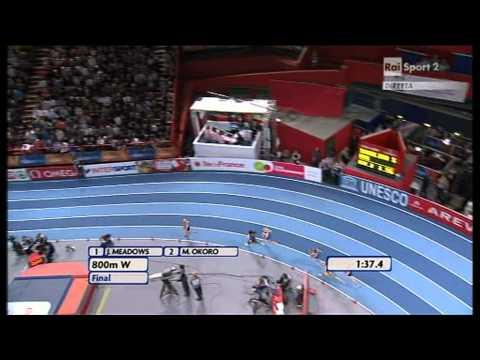 800m women final European Athletics Championships 2011, Paris