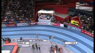 800m women final European Athletics Championships 2011, Paris