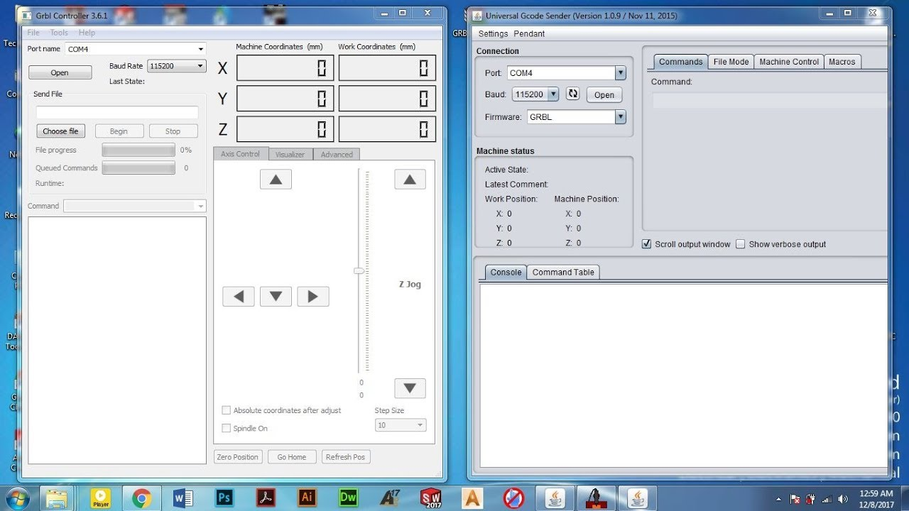 3axis CNC in Arduino Configeration for GRBL by Lan Technology of Bangladesh