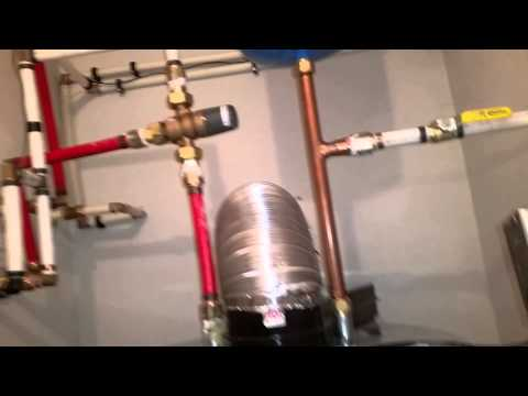 Apollo water heater installed correctly