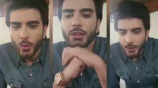 Imran Abbas Crying On Instagram Live