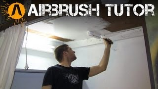 How to set up an airbrush space
