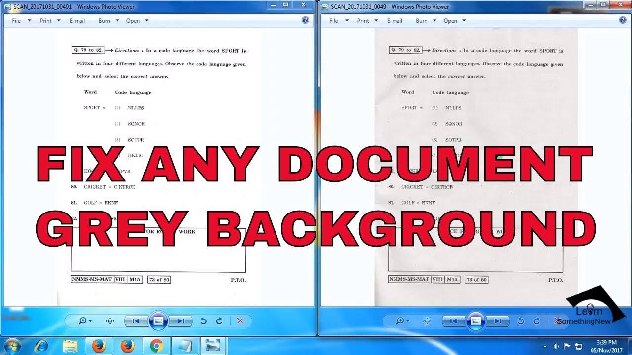 turn pdf into scanned document
