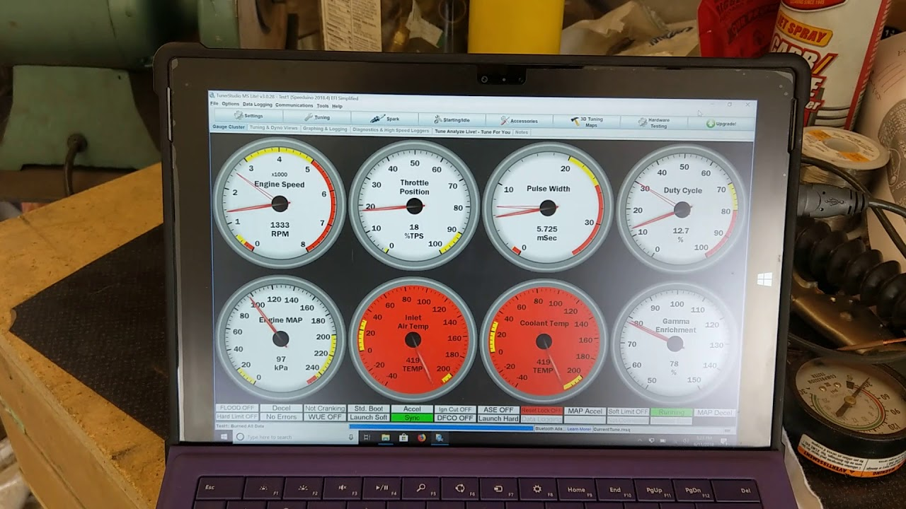 4A084 Speeduino Ignition Replacement - FIrst Run