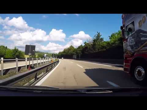 Driving in Italy : FLORENCE (FIRENZE) to AREZZO (E35 / A1)