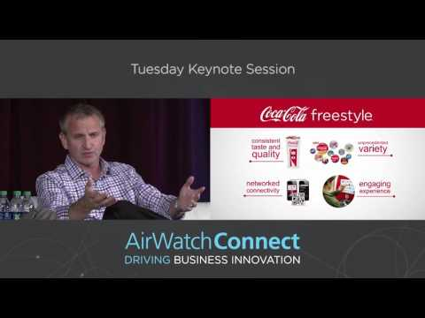Coca-Cola Uses IoT to Transform the Soft Drink Experience: AirWatch Connect Session