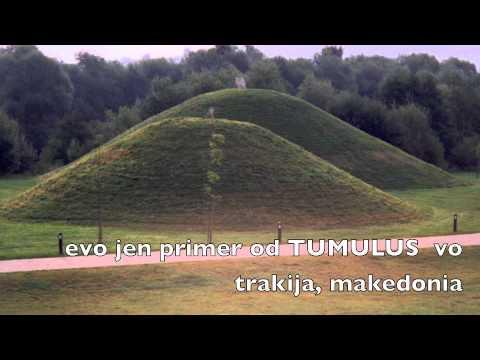 Tumulus piramida vo Gora-Kosovo Serbia