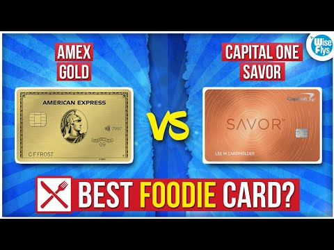 Amex Gold Vs Capital One Savor | Best Dining Card