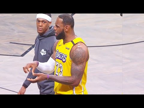 LeBron James Disrespected By Nets Then Makes Them Pay & Goes Crazy For Jared Dudley! Lakers vs Nets