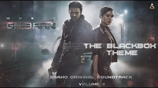 Saaho - The BlackBox Theme   Ghibran   Prabhas   Sujeet   UV Creations Thumb