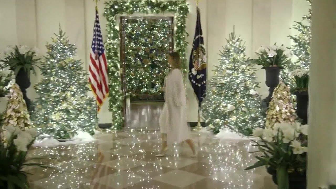 white house christmas tour 2020