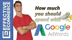 How Much You Should Spend With Adwords