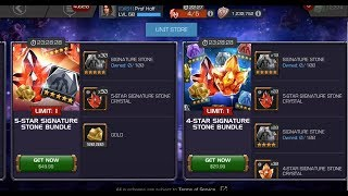 After A Brief In-Game Delay...Signature Stone Bundles Are Back!