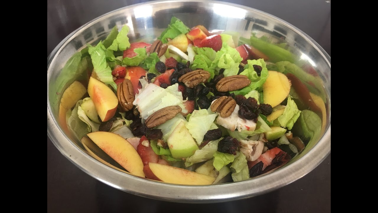 ensaladas de frutas y verduras