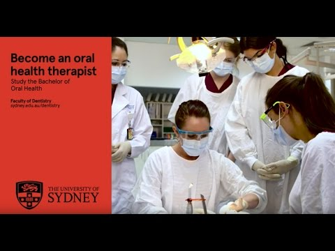 Become an oral health therapist - study our Bachelor of Oral Health course
