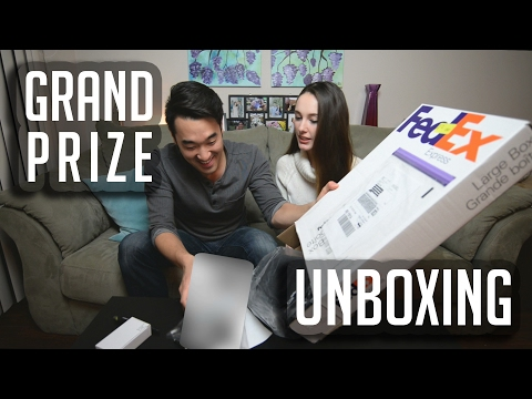 Grand Prize Unboxing