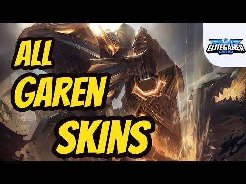 All Garen Skins Spotlight League of Legends Skin Review