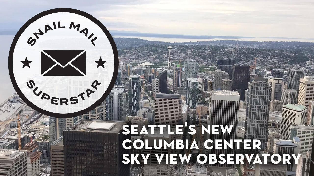 Seattle's Columbia Center Sky View Observatory