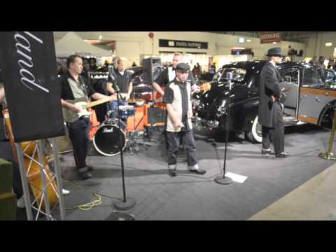 Merciless Rockers at the American Car Show - 2016