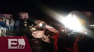 Carambola en la México- Querétaro deja dos muertos /Jazmín Jalil