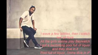 Kendrick Lamar - Swimming Pools (Drank)(Clean)(Lyrics)