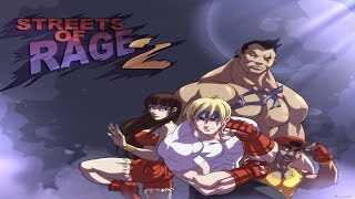 Streets of Rage 2 Full 2P Co op Gameplay Walkthrough Longplay