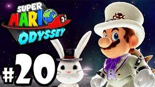 Super Mario Odyssey - Switch Gameplay Walkthrough PART 20: Dark Side Bosses - Wedding Bowser amiibo