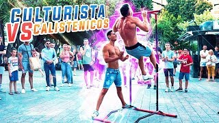 CULTURISTA RETA A GENTE POR LA CALLE A HACER DOMINADAS *Reto Fitness* MP3