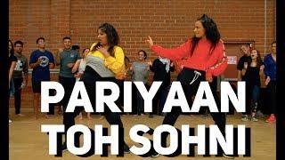 """PARIYAAN TOH SOHNI"" - Amrit Maan | BhangraFunk Dance | Shivani Bhagwan and Chaya Kumar"