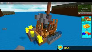 arming boats with my cousin and honelay // second part in roblox