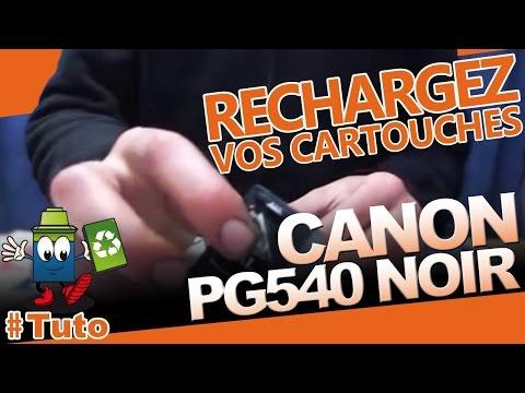 refilling canon cl541 pg540 ink cartridges for mx375 m doovi. Black Bedroom Furniture Sets. Home Design Ideas