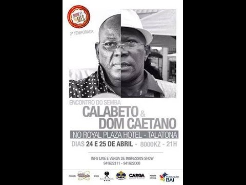 CALABETO & DOM CAETANO  - Show do Mês 24 04 2015