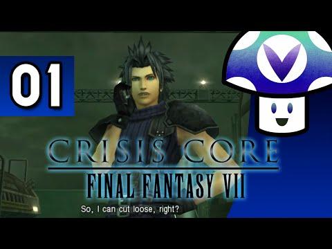 [Vinesauce] Vinny - Crisis Core: Final Fantasy VII (part 1) + Art!
